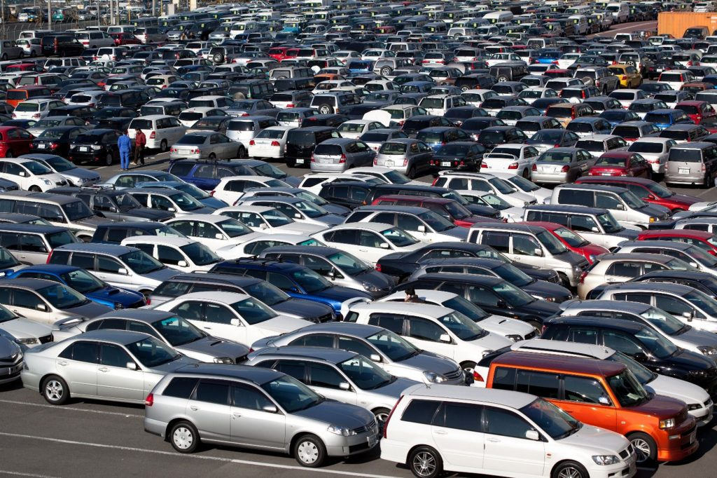 Large lot of used cars to choose from